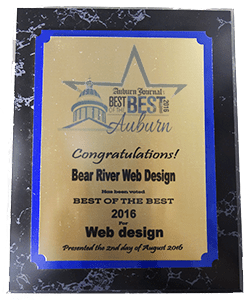 "Voted Best of the Best for ""Web Design"""
