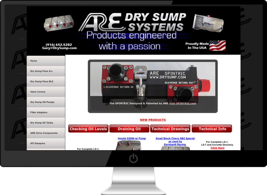 Armstrong Race Engineering DrySump.com